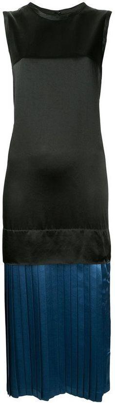 Toga Pulla layered pleated dress