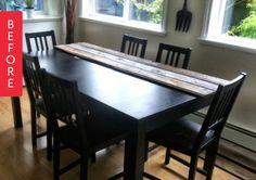 Before & After: Old Dining Room Set Gets a Makeover — Flutter Flutter | Apartment Therapy