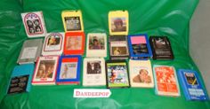 18 Vintage 8 Tracks Music Holiday Gifts Various artists find me at www.dandeepop.com