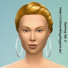 19 Sims 4 Blog: Earring Set 3 • Sims 4 Downloads