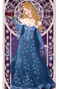 Princess Aurora (Version 2) ~ by ZoraRavenwood ~ created using the Azaleas Dolls doll maker   DollDivine.com