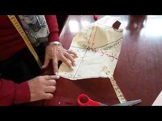 "Transformación de vestido escote en ""V"" y manga media campana. - YouTube Leather Backpack, Youtube, Sewing Patterns, Tote Bag, Bags, Watch, Fashion, Sundress Tutorial, Dress Template"