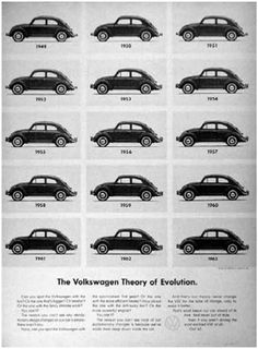 • Volswagen Beetle Ad • William Bernbach •