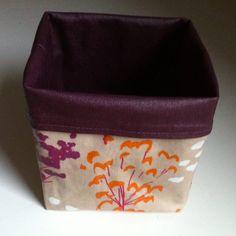 Un autre vide poche. Cube, Lunch Box, Sewing, Paris, Crochet, Crafts, Articles, Jeans, Tela