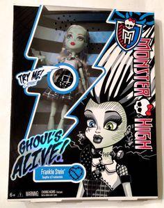 12ae0e527 Encontre Boneca Monster High Frankie Choque Eletrizante Mattel no Mercado  Livre Brasil. Descubra a melhor forma de comprar online.