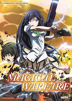 Shop Magical Warfare: Complete Collection Discs] [Blu-ray] at Best Buy. Find low everyday prices and buy online for delivery or in-store pick-up. Mahou Sensou, Magical Warfare, Attack On Titan 2, Anime News Network, Anime Reviews, Cool Animations, Cartoon Movies, School Boy, High School