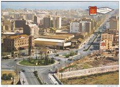 Inicio de la Avenida del Puerto. Años 50