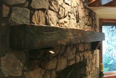 Rustic will change your ordinary fireplace into an extraordinary fireplace. Description from pinteres. - Rustic will change your ordinary fireplace into an extraordinary fireplace. Description from pinteres… – suzannefuller. Rustic Fireplace Mantle, Reclaimed Wood Mantel, Stone Fireplace Wall, Rustic Fireplaces, Living Room With Fireplace, Reclaimed Lumber, Fireplace Decorations, Contemporary Fireplace Designs, Fireplace Remodel