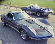 1960s Chevrolet Mako Shark Concept Cars