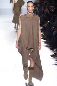 Visions of the Future // Rick Owens Fall 2015 Menswear - Collection - Gallery - Style.com