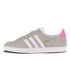 4cfc4745496 Adidas Originals WMNS Gazelle OG Solid Grey   White   Pink - Adidas  Originals The Gazelle
