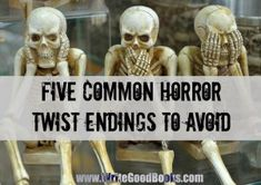 You've seen 'em all. And so has the editor of every major horror publication. And that's why you need to avoid them.