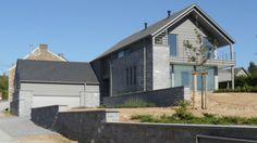 Private house in Hamois (Belgium) by ATELIER D'ARCHITECTURE BOSQUEE  #Architecture #Project #QuartzZinc #QUARTZZINC #Façade #Facade #Belgique #PrivateHouse #Zinc #VMZINC