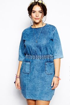 All Denim Everything For The Plus-Size Set #refinery29 http://www.refinery29.com/plus-size-denim#slide7
