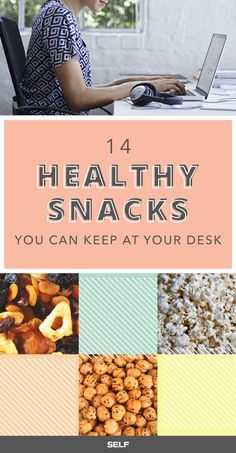 That snack drawer in your desk is pretty much the office MVP. The beauty of desk-ready snacks is that they can stay safely tucked away and will last for weeks, as compared to that ripe banana you forgot about over the long weekend or the yogurt you neglected to stash in the fridge. Yeah, ew. Luckily, there are plenty of healthy midday munchies that'll keep you just as satisfied, no refrigeration required.