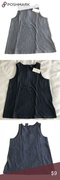 NWT!! Gap navy blue tank top 4T 100% cotton NWT!! Gap navy blue tank top 4T 100% cotton GAP Shirts & Tops Tank Tops