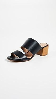 MADEWELL | Olivia Two-Strap Mule Sandals #Shoes #MADEWELL