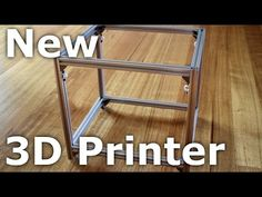 Upgrade your 3D Printer to this frame! Re-use your motors, electronics, hotend, heatbed, etc... Watch how the HyperCube came to be: https://www.youtube.com/watch?v=n2jM6v3E7sU&list=PLIaArjwViQRVAERWRrYfe9rtiwvvRGCzw I wanted to reduce the weight of the moving mass as much as possible. As the entire X-gantry is moving in the Y direction, the rails for the X axis should be light too. I chose to use 10mm anodised aluminium tubing, which is half the weight of 8mm steel rods. Marlin 1.1.-RC7…