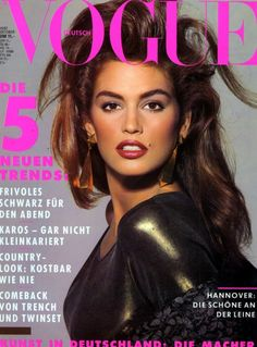 vogue magazine covers from the 1990's - Google Search