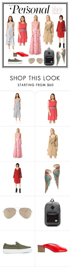 """Personal Style"" by cate-jennifer ❤ liked on Polyvore featuring Milly, The Great., Notte by Marchesa, Opening Ceremony, Free People, Elizabeth Cole, Victoria Beckham, Herschel Supply Co., Joshua's and Isabel Marant"