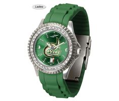 Sparkle AnoChrome North Carolina Charlotte 49ers Watch is available in a Ladies style. Showcases the 49ers logo. Color-coordinated silicone band. Ships Free. Visit SportsFansPlus.com for Details.
