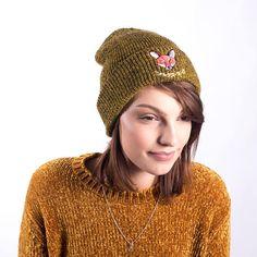 Mustard JP Fox Soup Beanie// Japanese Range// Autumn Winter Wear Winter Wear, Fall Winter, Autumn, Mustard, Fox, Beanie, Japanese, Trending Outfits, Unique Jewelry