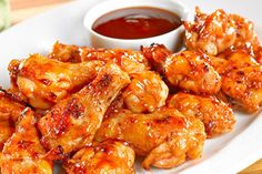Caribbean Food Recipes: Honey Rum Wings