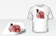 #T-Shirt Transfers are the 4-color digital printing,printed on white heat transfer paper at #Blackpine. blackpineprinting.com