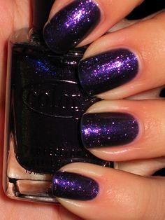 great purple shimmer (Color Club Alias)