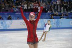 フィギュア団体戦・女子FSで首位のリプニツカヤ、ソチ五輪
