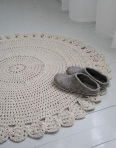Tekstiiliteollisuus - Virkattu matto Knit Crochet, Crochet Patterns, Kids Rugs, Crafty, Knitting, Sewing, Creative, Handmade, Diy