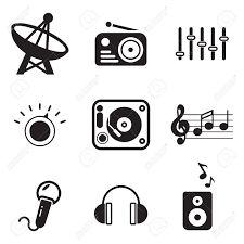 ผลการค้นหารูปภาพสำหรับ music radio station symbols