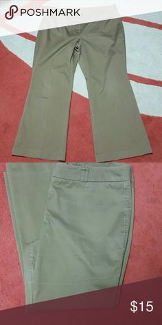 New York and Company pants Light brown pants in great condition. 97% cotton and 3% spandex  Open to reasonable offers New York & Company Pants