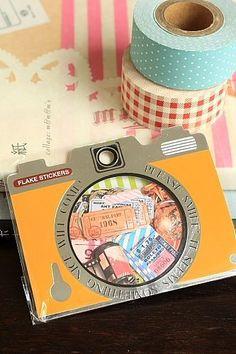 "This is super cute flake set- 70 pcs, 10 designs- 7cm x 12.5cm (2.8"" x 5"")- Material: pvc- Made by Q…"
