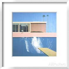 A Bigger Splash Posters by David Hockney at AllPosters.com