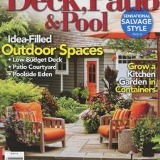 Better Homes and Gardens: Deck, Patio & Pool - featured in 2012. #gardening #DIY #bhg
