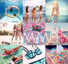 summer collage<3