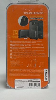 Galaxy S6 Protective Case Spigen Tough Armor Heavy Duty Built-in Stand SGP11337 #SPIGENSGP