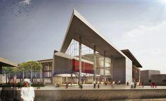 """1. Ödül, Çanakkale Belediyesi """"Yeşil"""" Yerel Yönetim ve Kültür Merkezi Binası Yarışması"""