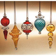 Handmade Egyptian Glass Ornaments | pyrex glass ...unique...