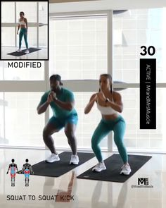 Fitness Workouts, Hiit Workout Videos, Full Body Workout At Home, Hiit Workout At Home, Gym Workout For Beginners, Gym Workout Tips, Fitness Workout For Women, Sport Fitness, At Home Workouts