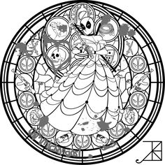 Vanellope Stained Glass -line art- by Akili-Amethyst on DeviantArt Adult Coloring Book Pages, Cute Coloring Pages, Disney Coloring Pages, Printable Coloring Pages, Coloring Books, Disney Stained Glass, Marvel Coloring, Disney Drawings, Line Art