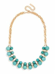 love to wear turquoise in spring & summer!