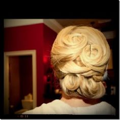 My wedding hair done by Joseph nunn! Bun Hairstyles, Wedding Hairstyles, Creative Hairstyles, Long Hair Styles, My Style, Buns, Makeup, Hair Ideas, Joseph
