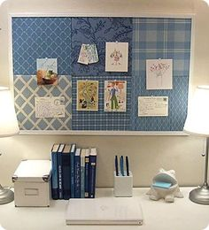 A Pottery Barn Teens knock-off with instructions. So easy and cute!