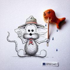 Fisherman Scout Rikiki!! ✌️ he's cute