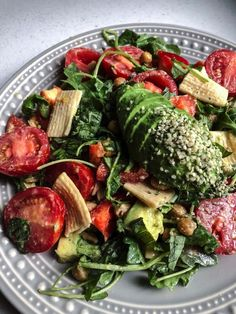Hearty Vegan Summer Salad | UpBeet and Kaleing It