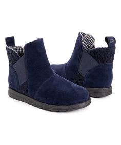 Muk Luks Navy Mila Boot - Women   Best Price and Reviews   Zulily Cold Weather Boots, Amazing Women, Slip On, Wedges, Navy, Chic, Confidence, Clever, Water
