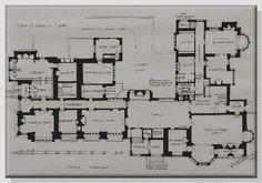 Rosenough House ground floor plan 1893