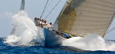 J Class Yachts | J5 Ranger | #sailing #crews #coastal
